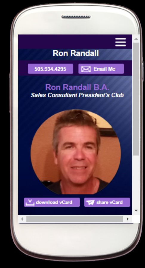 Mobile App Business Cards For Small Business No More