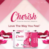 Nspire Cherish Sanitary Napkins safer than Tampons and helps prevent Toxic Shock Syndrome TSS and reduce Cramps Picture