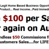 Rake in $100 or more a Day Before Breakfast! Picture