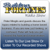 Citizens for Health Attorney Jim Turner on Building Fortunes radio with Peter Mingils Picture